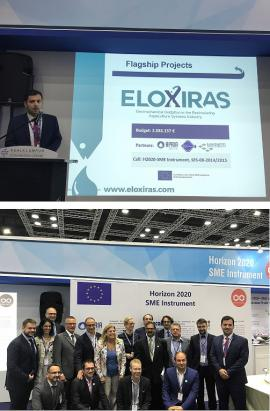 Pitching session of ELOXIRAS®